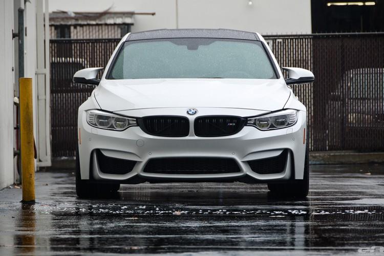 Alpine White BMW F80 M3 With Cosmetic Upgrades 1 750x500