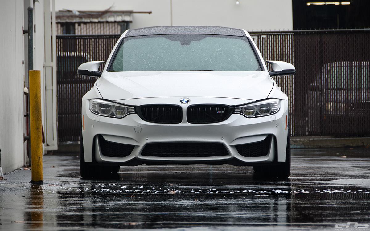 Alpine White BMW F80 M3 With Cosmetic Upgrades 1