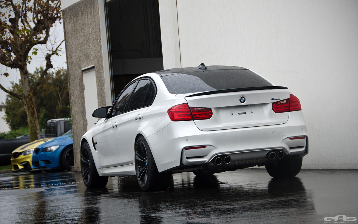 Alpine White BMW F80 M3 With Cosmetic Upgrades