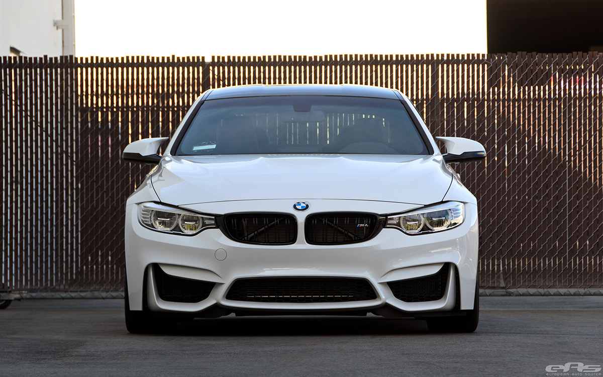 Alpine White BMW F82 M4 In For Some Mods At EAS 16