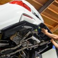 Alpine White BMW F82 M4 With Vorsteiner Carbon Fiber Aero Parts
