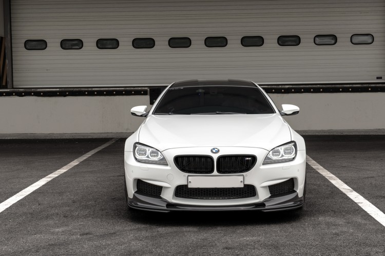 Alpine White BMW M6 Gran Coupe With 3D Design Aero Image 7 750x500