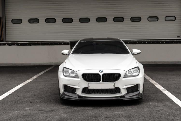 Alpine White BMW M6 Gran Coupe With 3D Design Aero Image 7 750x500
