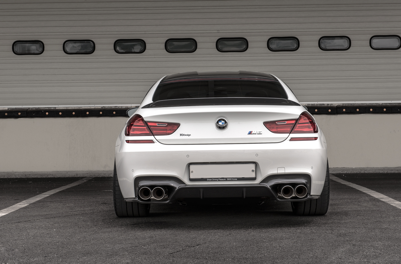 Alpine White BMW M6 Gran Coupe With 3D Design Aero