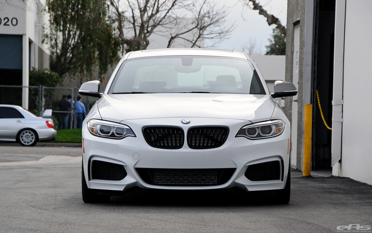 Alpine White M235i Gets Lowered At European Auto Source 10