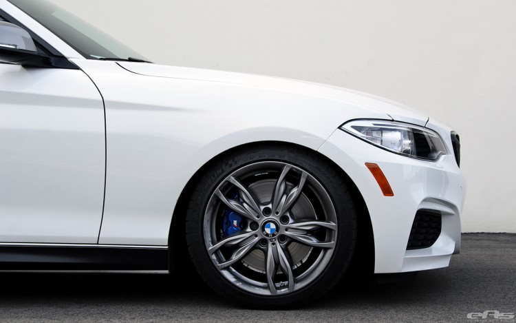 Alpine White M235i Gets Lowered At European Auto Source