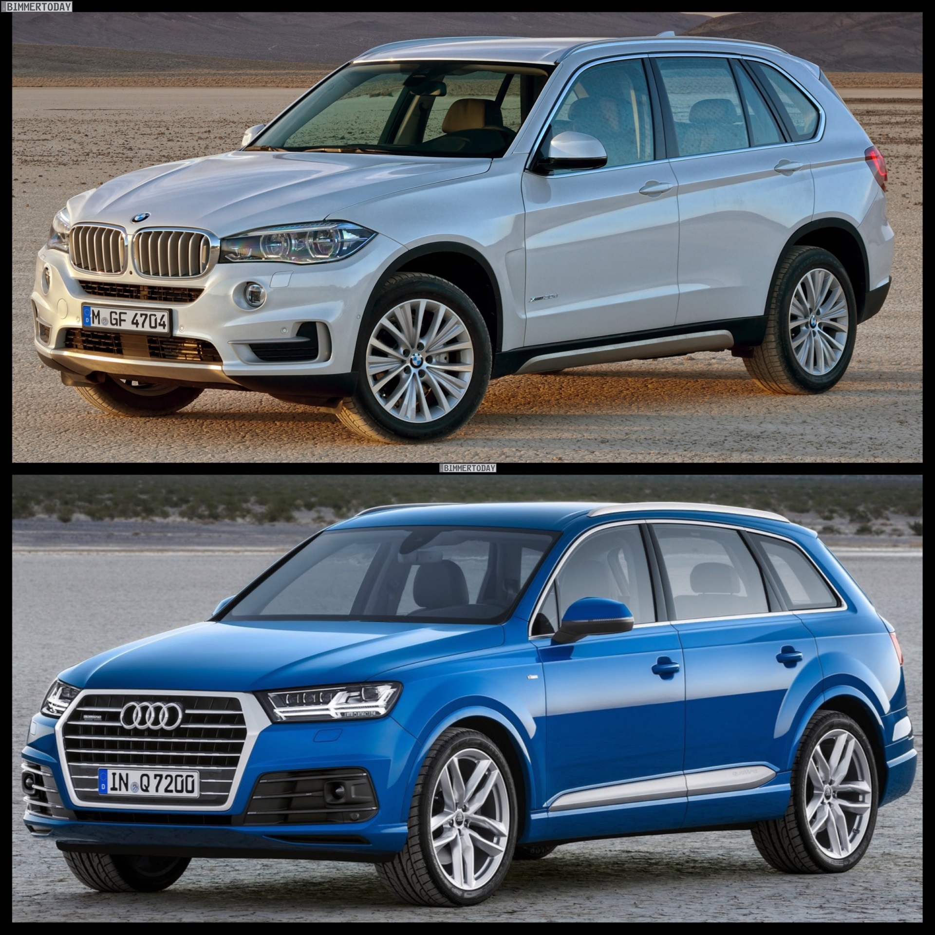 Bmw X7 2015: Driving Comparison: 2015 BMW X5 Vs 2016 Audi Q7