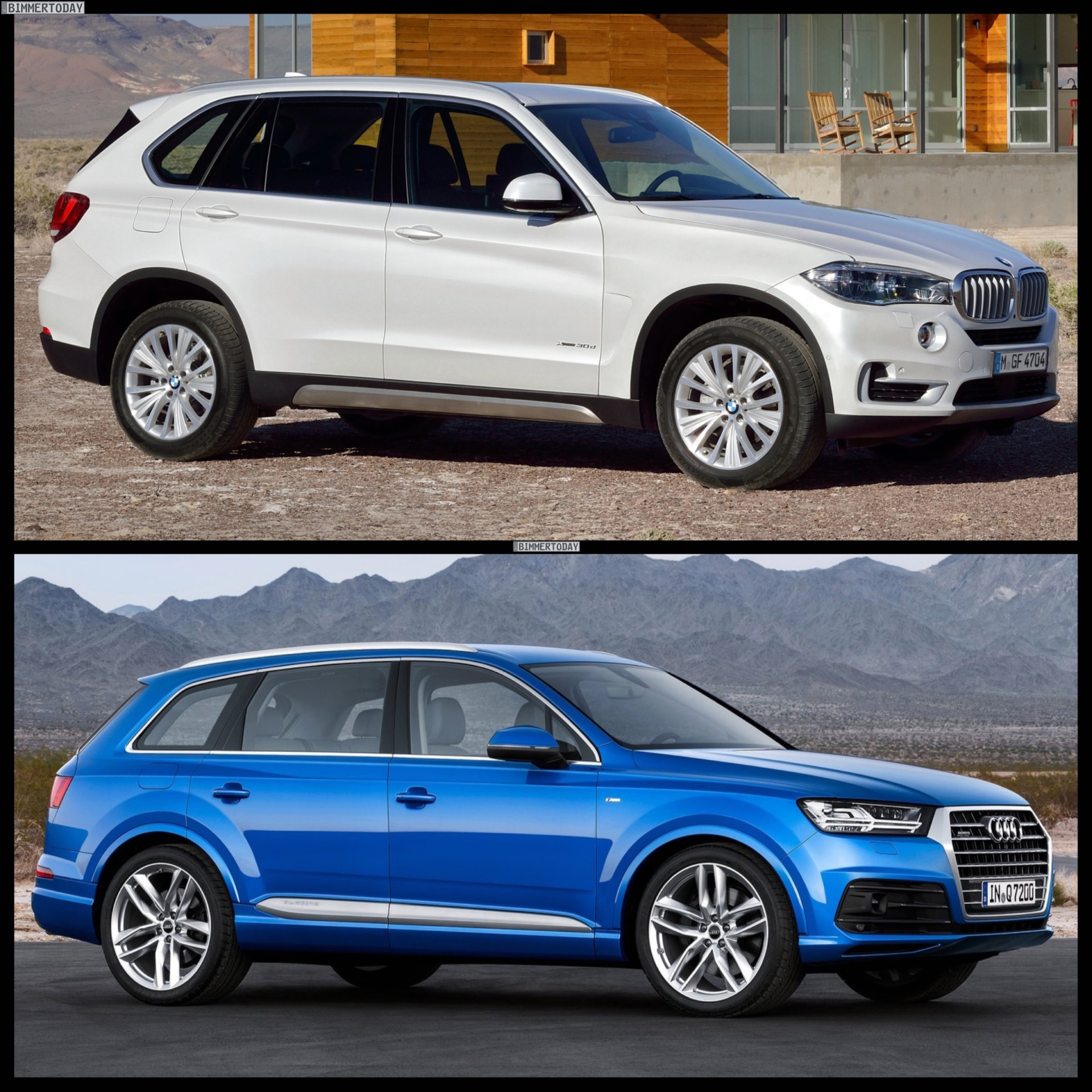 2015 Audi Q7 Vs 2015 Bmw X5 Photo Comparison
