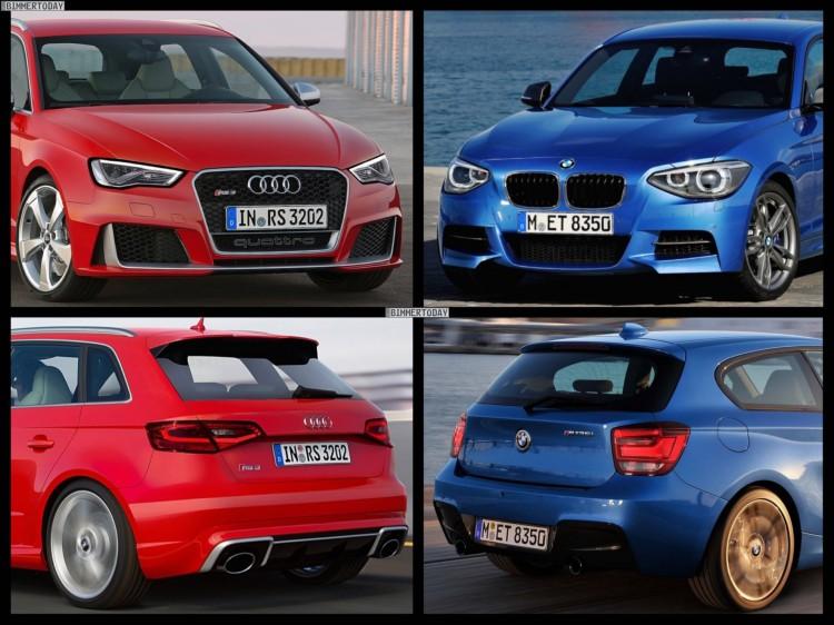 Audi RS 3 2015 BMW M135i xDrive 1 750x562