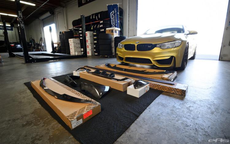Austin Yellow BMW F82 M4 Build By EAS Image 1 750x468