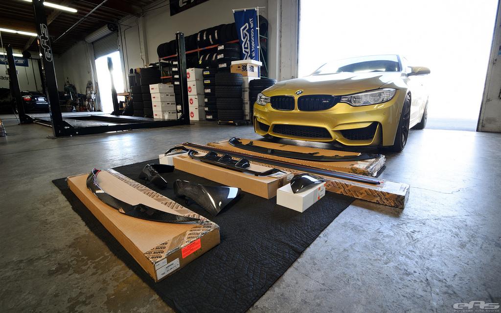 Austin Yellow BMW F82 M4 Build By EAS Image 1
