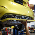 Austin Yellow BMW F82 M4 Build By EAS Installation
