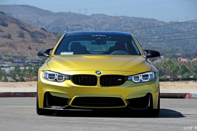 Austin Yellow BMW F82 M4 Build By EAS Photoshoot 1 750x500