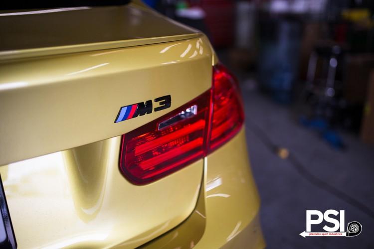 Austin Yellow BMW F82 M4 By Precision Sport Industries 2 750x500