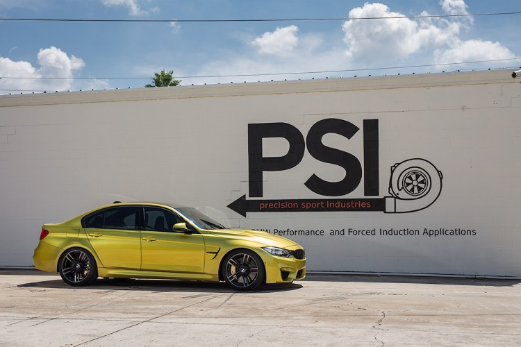 Austin Yellow BMW F82 M4 By Precision Sport Industries 5 750x500