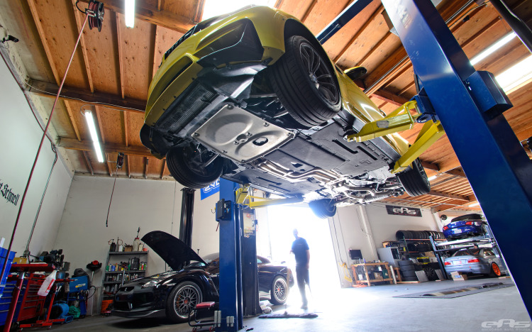 Austin Yellow BMW F82 M4 Coupe Build By EAS 20 750x468