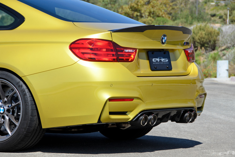 Austin Yellow BMW F82 M4 Coupe Build By EAS 32 750x500