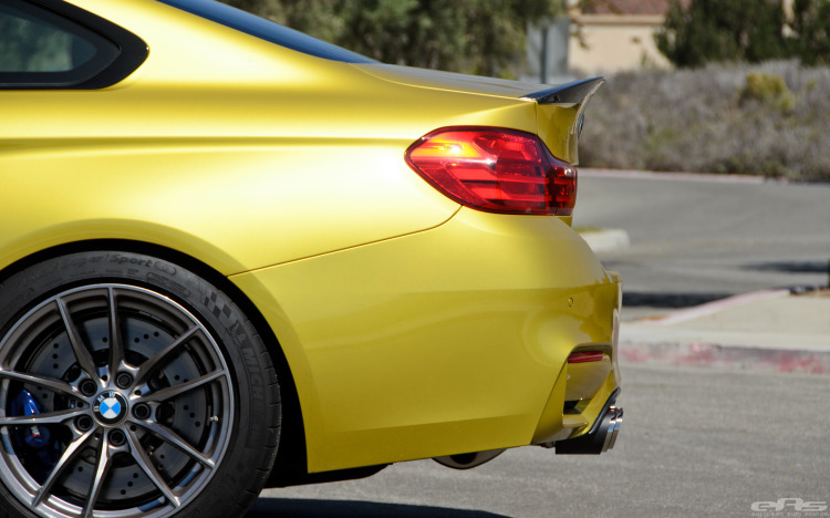 Austin Yellow BMW F82 M4 Coupe Gets Extra Power