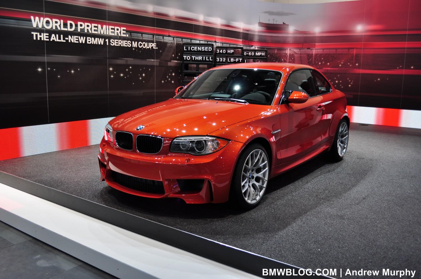 BMW 1 Series M Coupe Detroit Auto Show 83