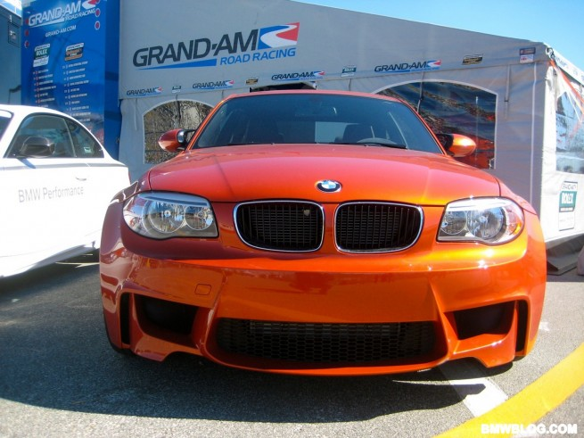 BMW 1M coupe pace car 1 655x491