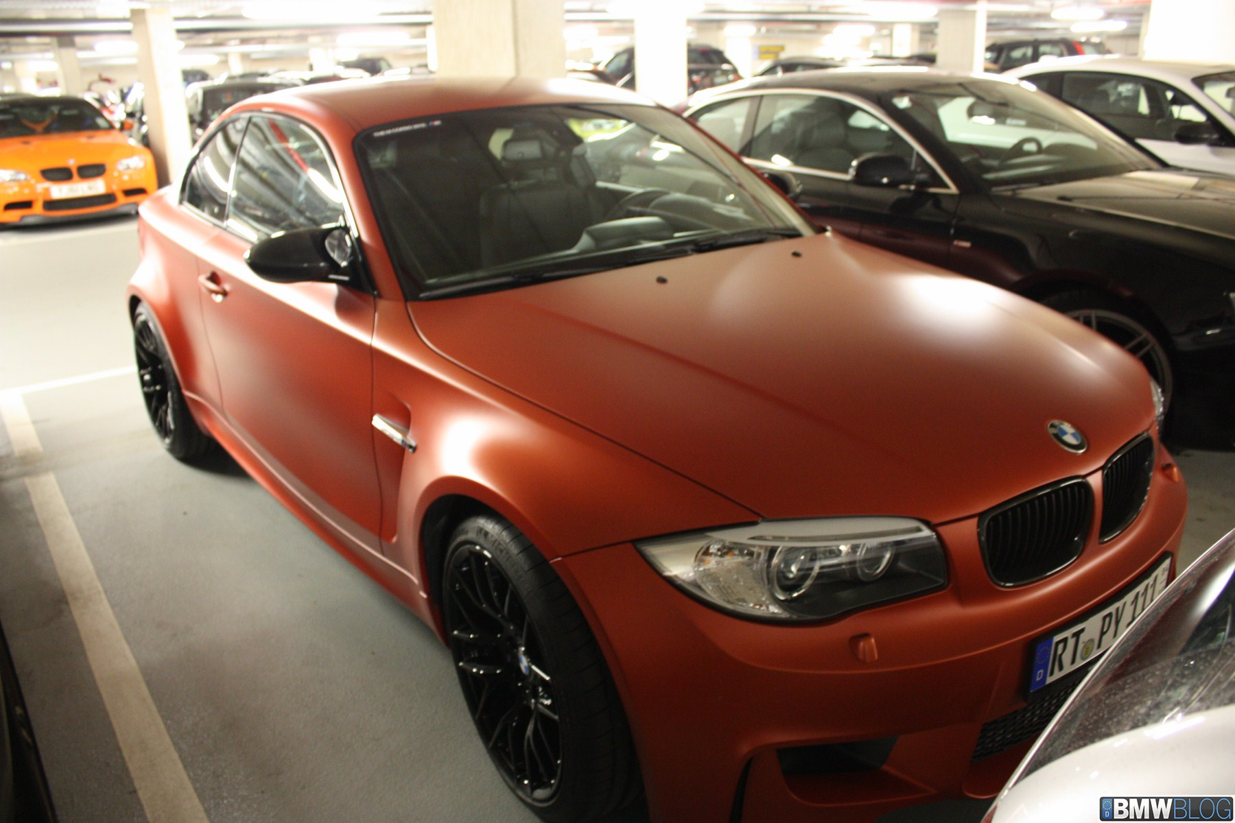 BMW 1M matte valencia orange 09