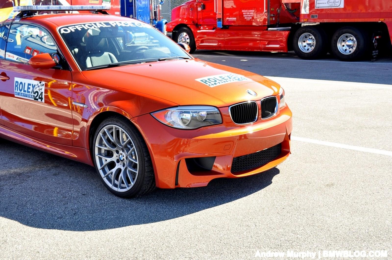 BMW 1M pace car Daytona 17