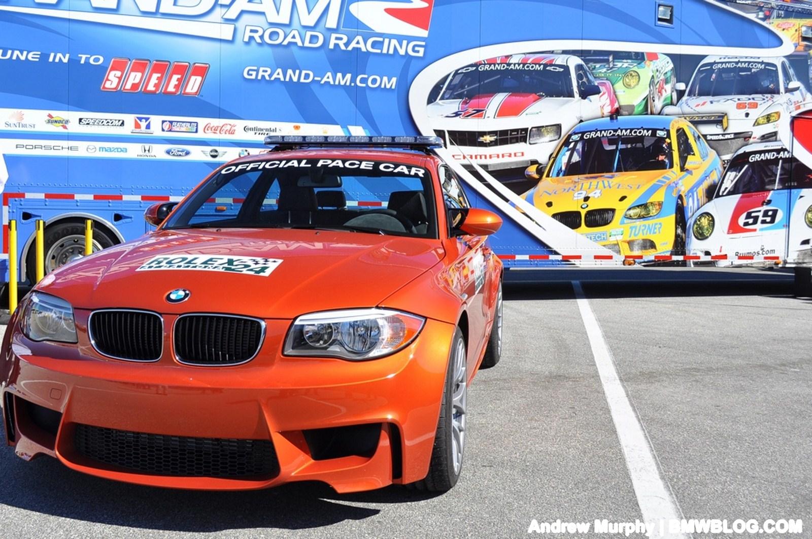 BMW 1M pace car Daytona 20