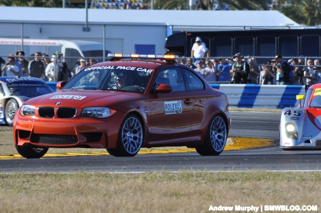 BMW 1M pace car Daytona 51 655x434