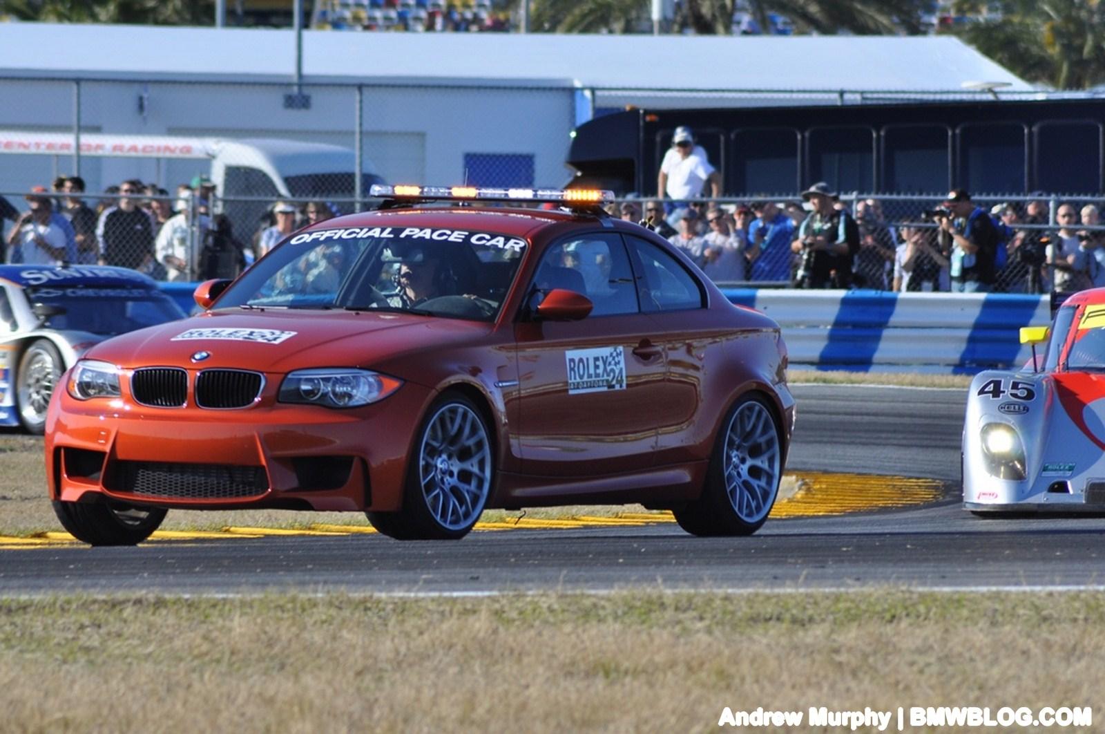 BMW 1M pace car Daytona 51