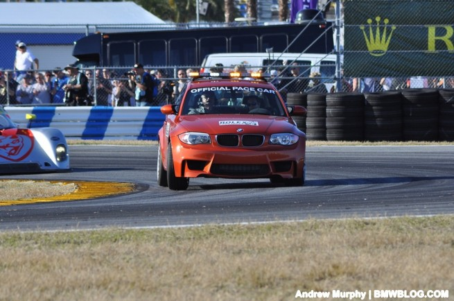 BMW 1M pace car Daytona 8 655x434