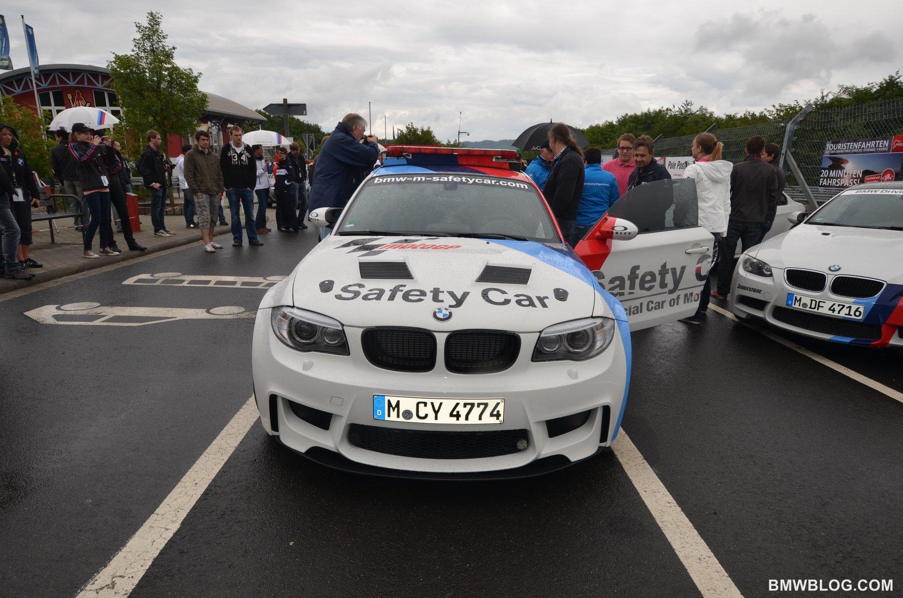 BMW 1M safety car 33