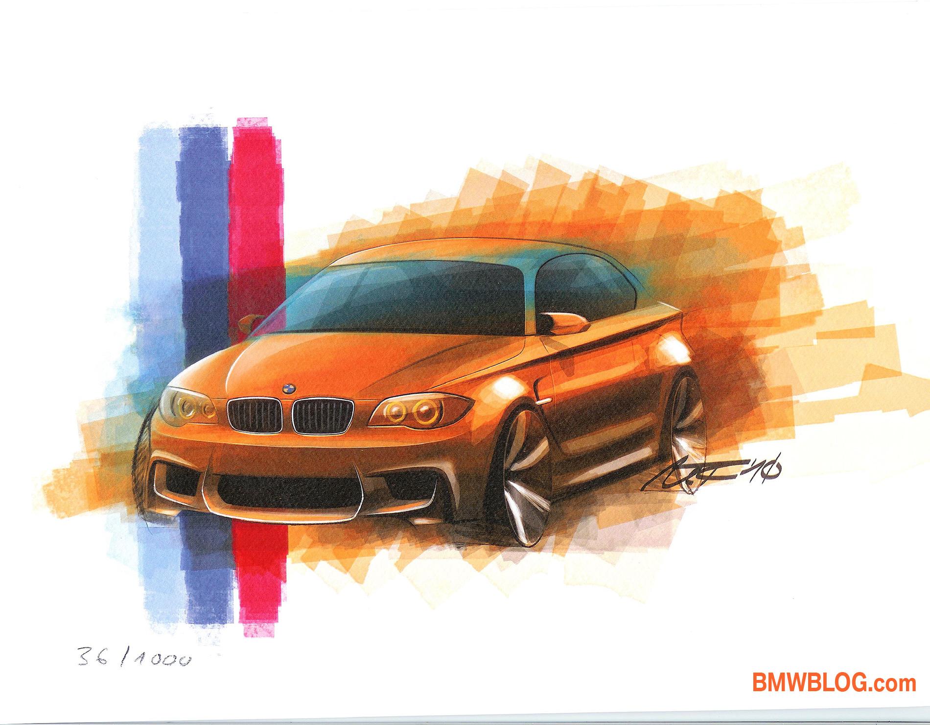BMW 1M sketch1