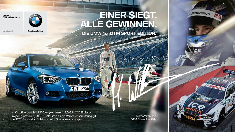 BMW 1er DTM Sport Edition 2014 Marco Wittmann Sondermodell 1er F20 F21 01