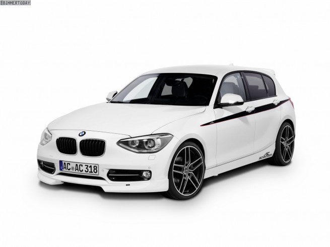 BMW 1er F20 AC Schnitzer Essen Motor Show 2011 06 655x491
