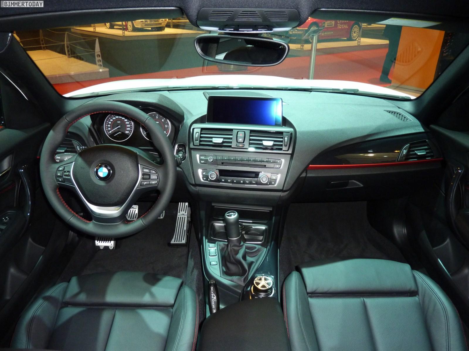 BMW 1er F20 ACS1 AC Schnitzer Essen Motor Show 2011 Innenraum 03