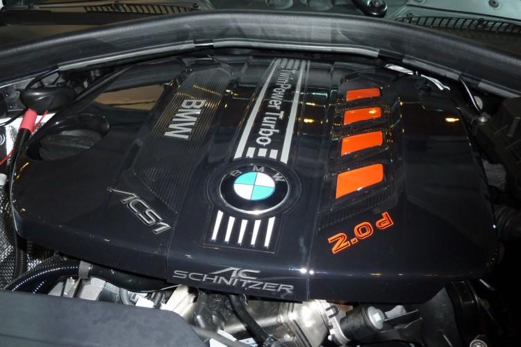BMW 1er F20 ACS1 AC Schnitzer Essen Motor Show 2011 Motorraum 01 750x500