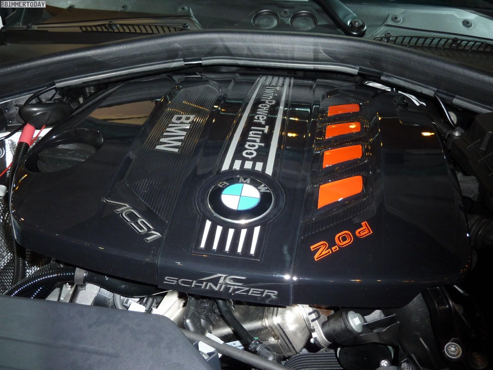 BMW 1er F20 ACS1 AC Schnitzer Essen Motor Show 2011 Motorraum 01