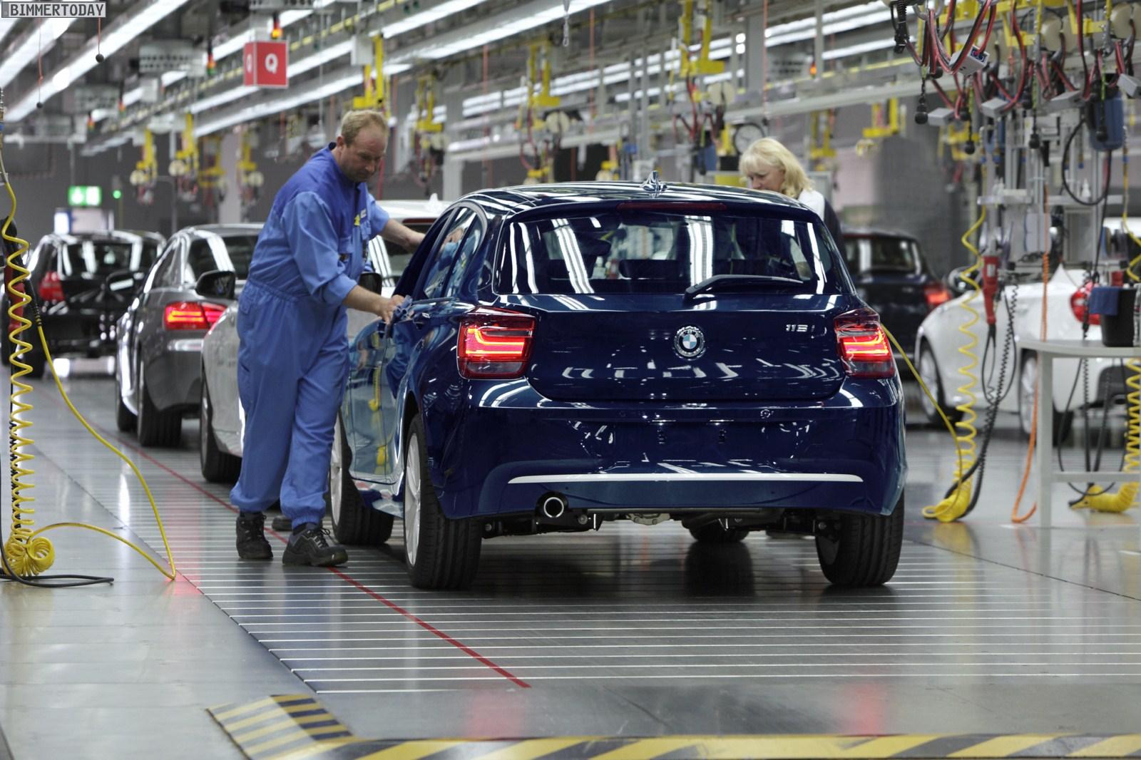 BMW 1er F20 Produktion Regensburg 022