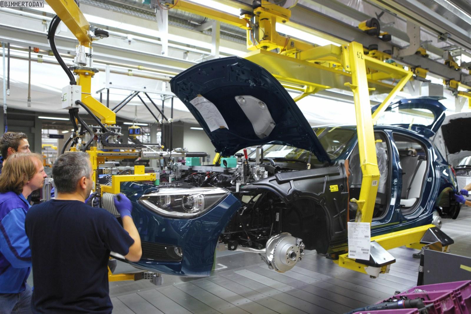 BMW 1er F20 Produktion Regensburg 05
