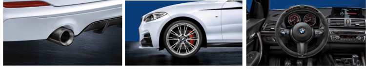 BMW 2 Series M Performance Parts 750x143