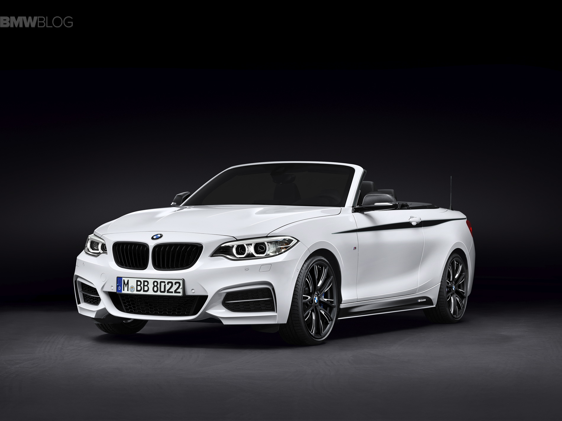 BMW 2 series convertible m performance parts 01