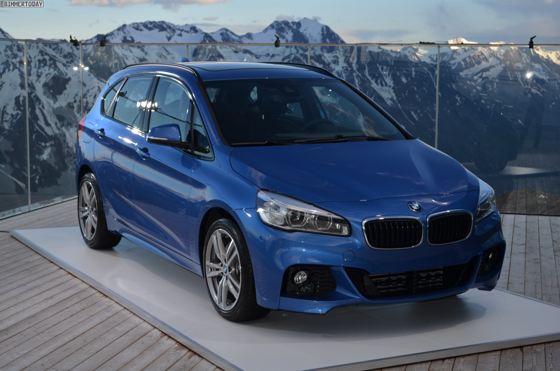 Bmw 225i Active Tourer With M Sport Package Real Life Photos