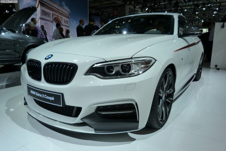 BMW 2er Coupe F22 M235i M Performance Paris 2014 LIVE 13 750x500