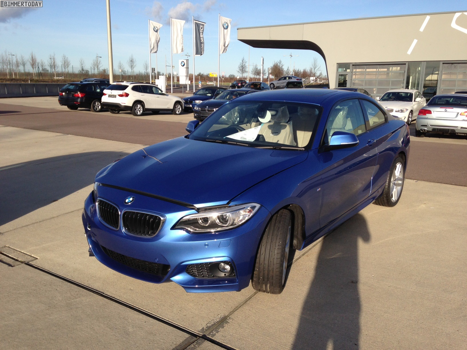 Bmw 2 Series Coupe In Estoril Blue Real Life Photos