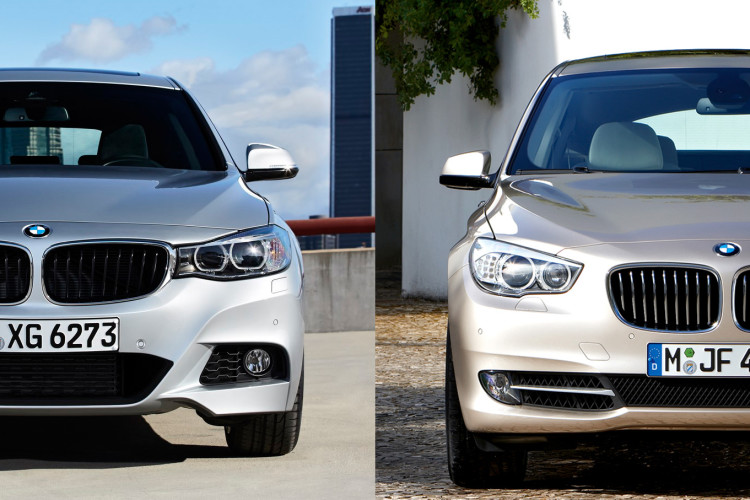 BMW 3 Series GT vs BMW 5 Series GT 750x500
