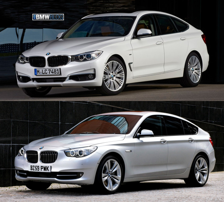 BMW 3 Series GT vs BMW 5 Series GT photo 3 750x678