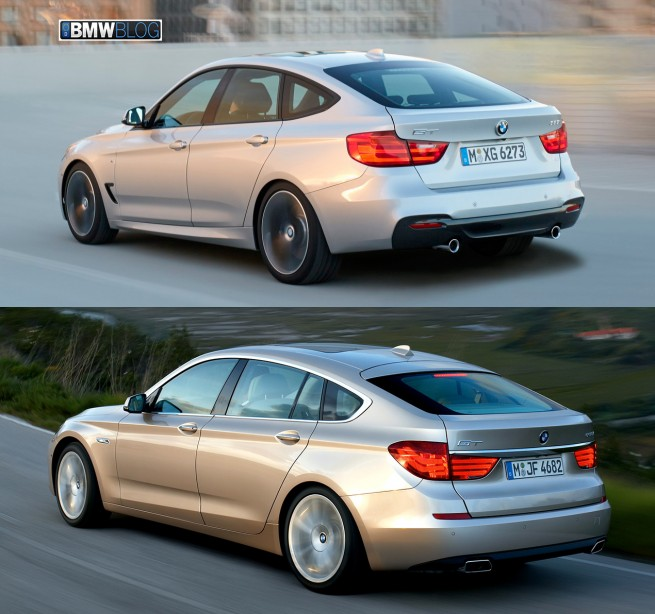 BMW 3 Series GT vs BMW 5 Series GT photo 4 655x614