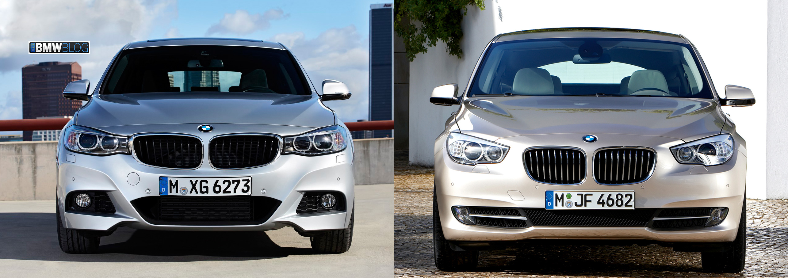 BMW 3 Series GT vs BMW 5 Series GT