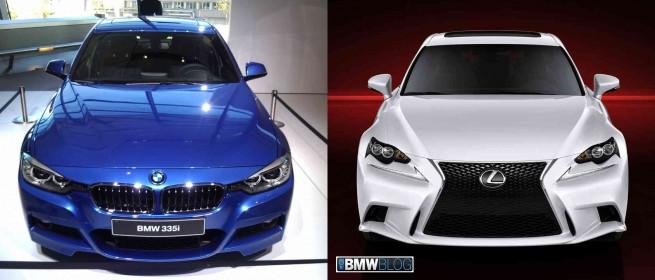 BMW 3 series lexus IS F Sport 655x280