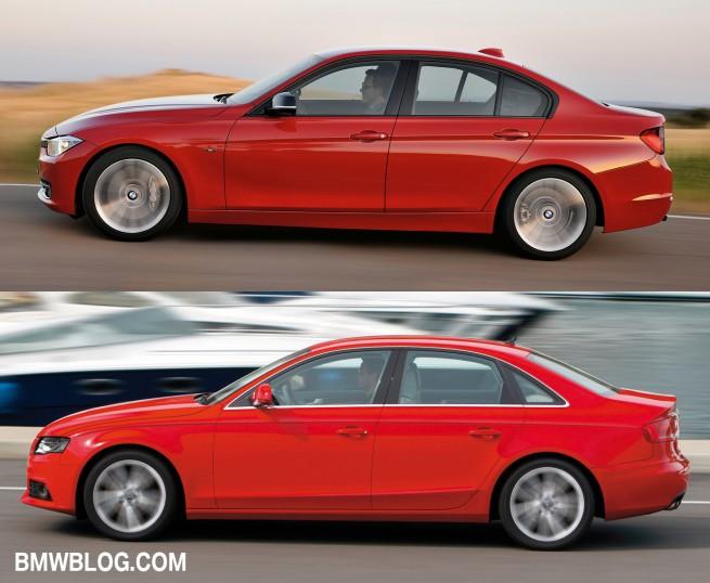 BMW 3 series vs audi a4 photo3 655x538